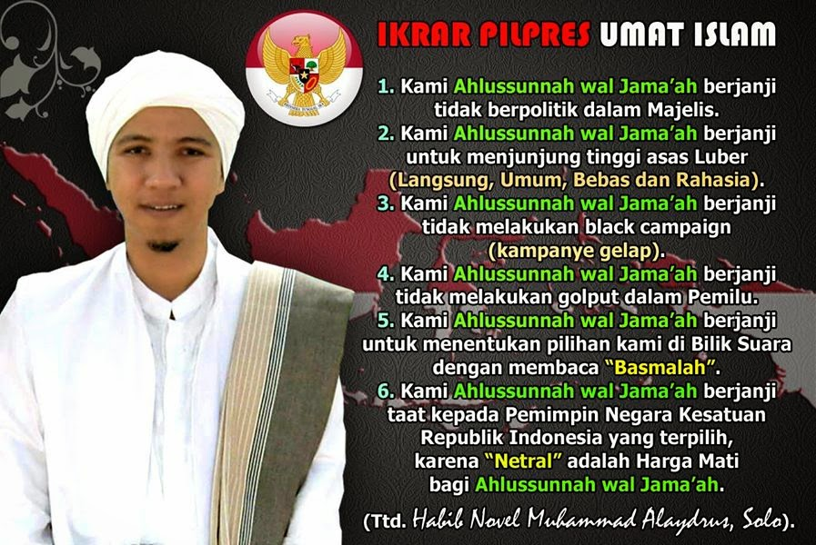 IKRAR PILPRES UMAT ISLAM