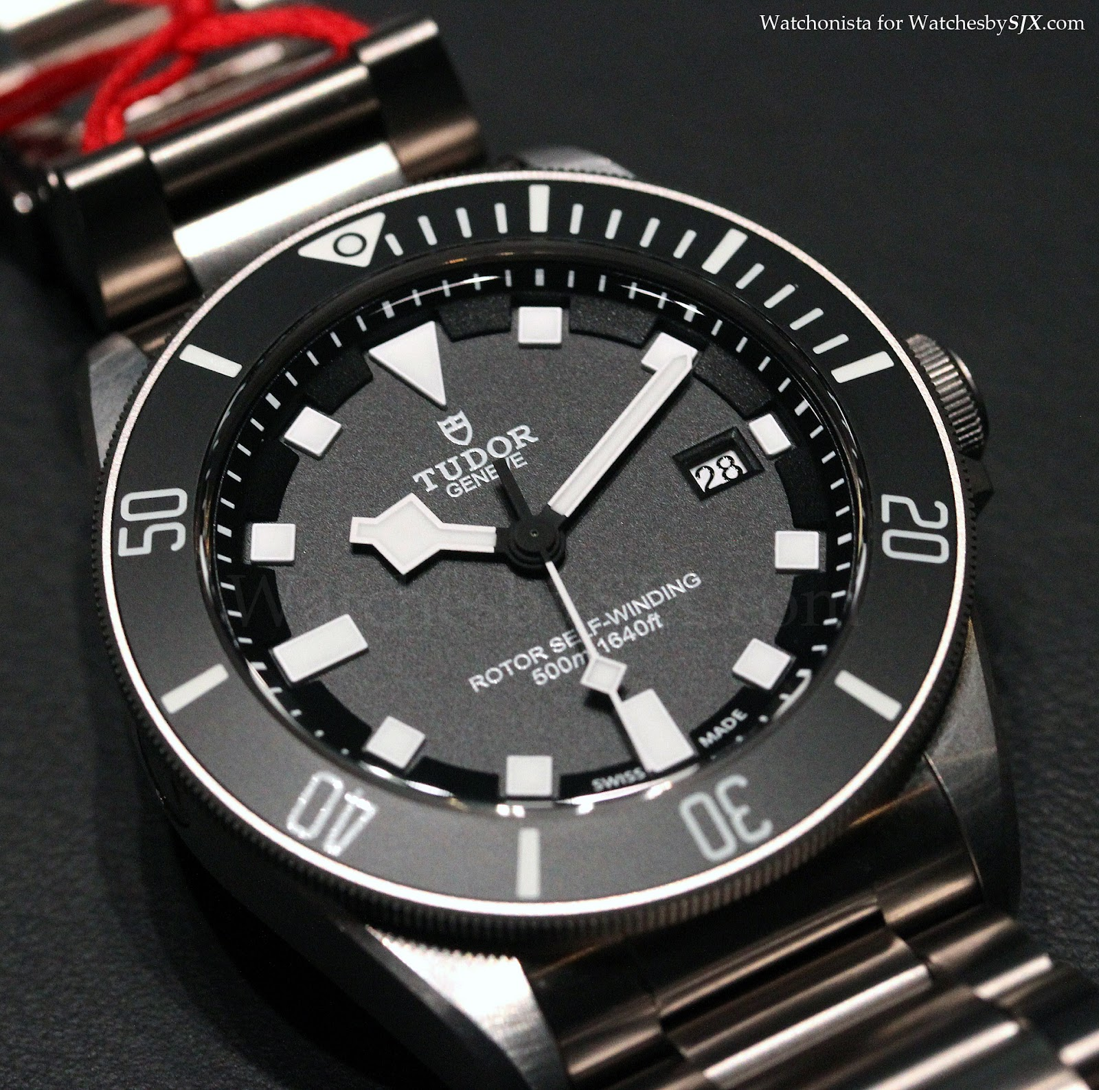 Watches by sjx tudor pelagos 500 m diver live photos - Tudor dive watch price ...