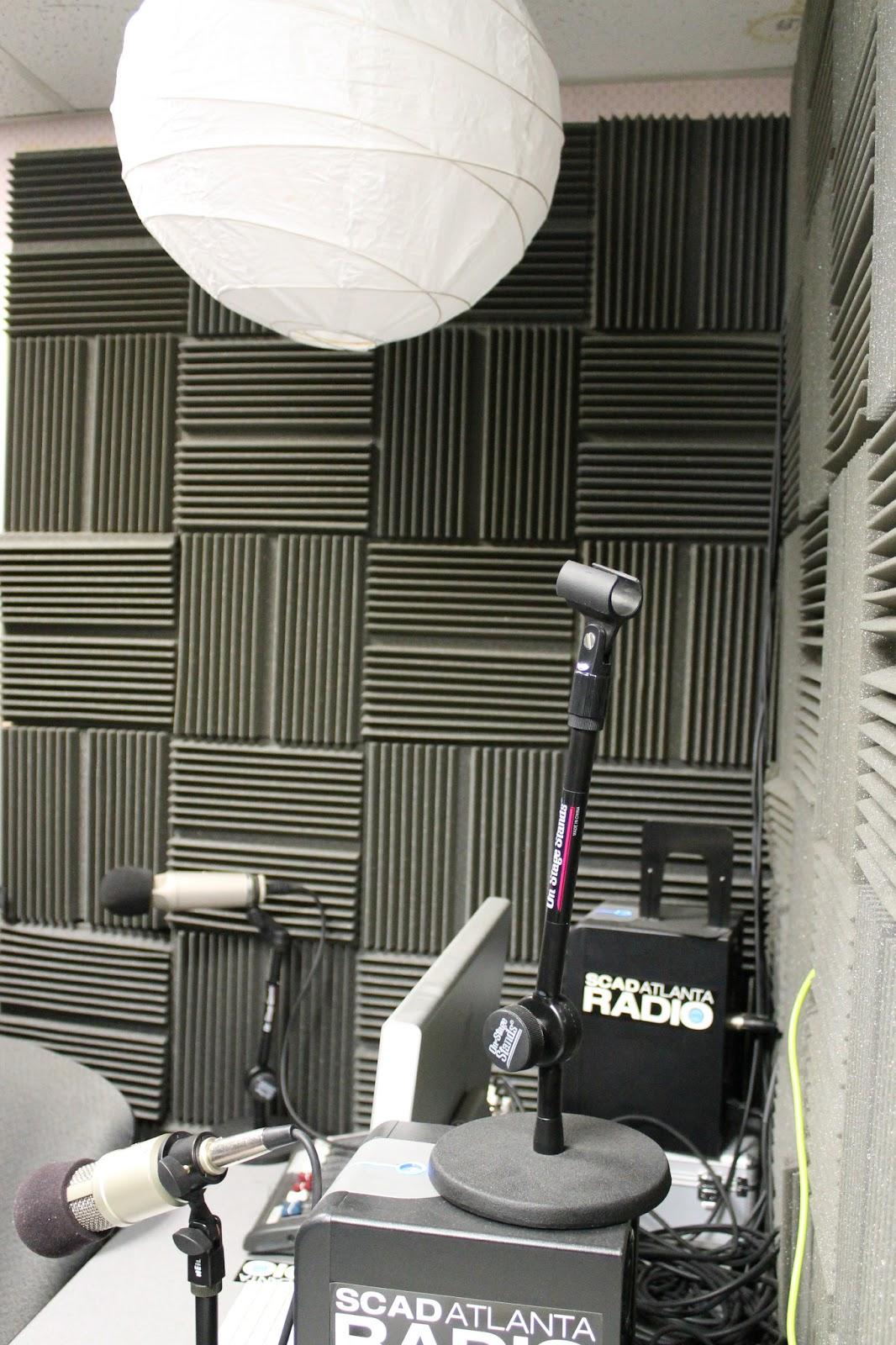 SCAD Atlanta Radio Production Studio Photo J Waits