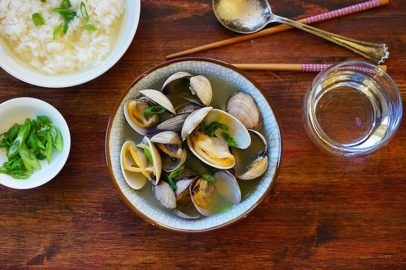 Seasaltwithfood: Miso Soup With Clams