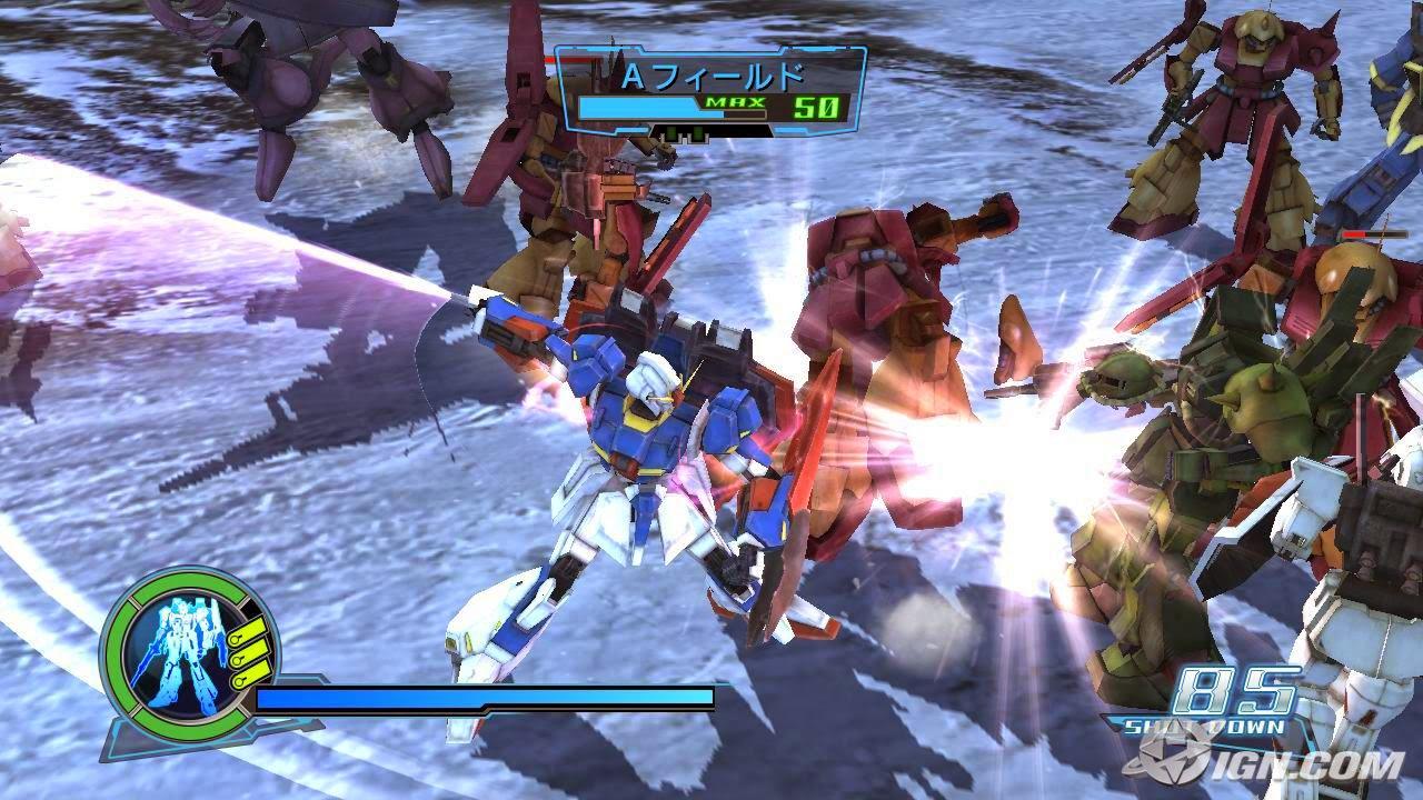 Tips Gundam Musou Special PS2