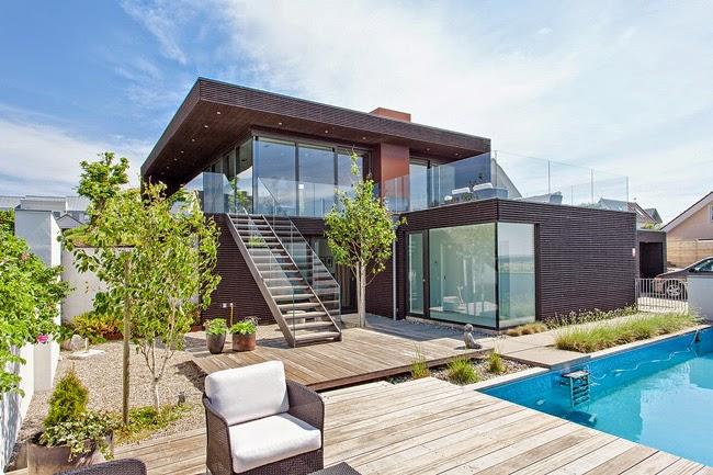 Casas minimalistas y modernas for Casas modernas oscuras