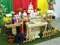 Decoração de festa infantil Gauchesca em Porto Alegre