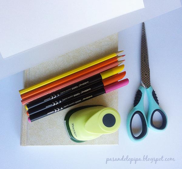 pasandolopipa | material para realizar marioneta de dedos
