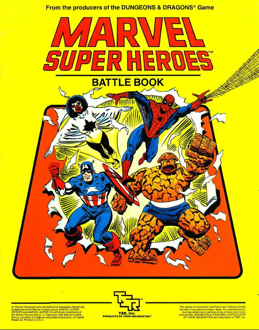 Marvel Super Heroes 60 Superhéroes: Marvel Superhereos Roleplaying Game Character Sheets