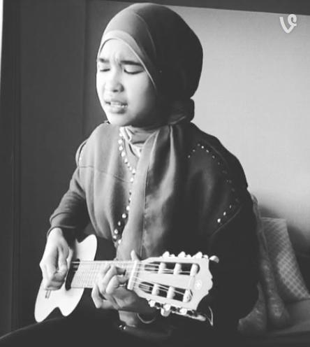 Biodata Profil Fatimah Zahratunnisa Hijaber Indonesia Pemenang Kontes Menyayi Jepang Dan Foto