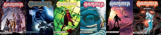 mondadori comics hammer recensione covers copertine copertina tutte fumetto