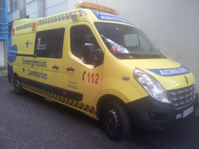 La UVI Móvil de Emergencias Sanitarias de Béjar