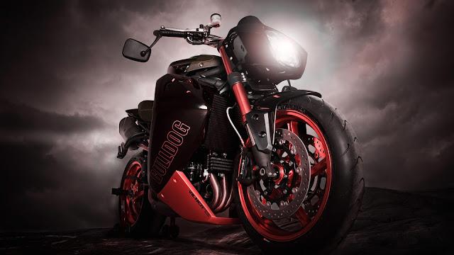 Bulldog Motorcycle HD Wallpaper