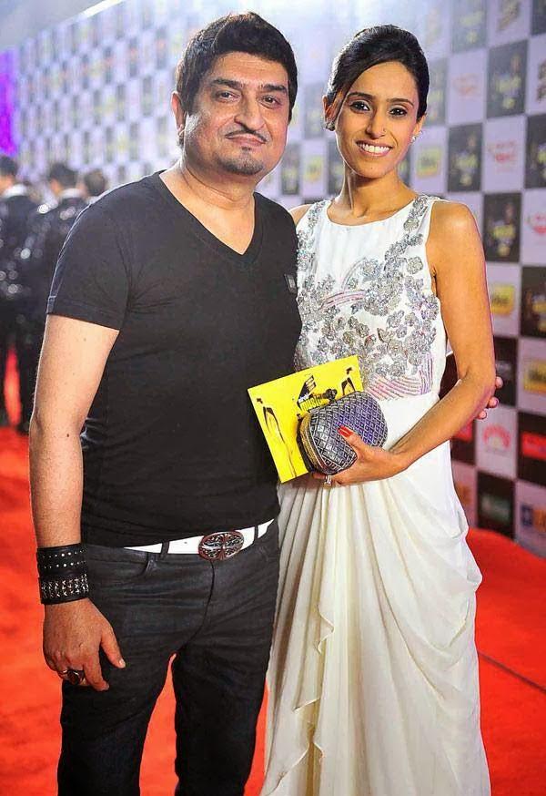 Neeraj Shridhar at Mirchi Music Awards 2014