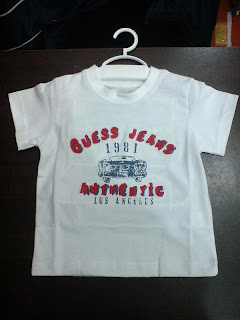 Guess White T-Shirt for Boy
