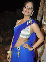 Anasuya Saree Stills-cover-photo