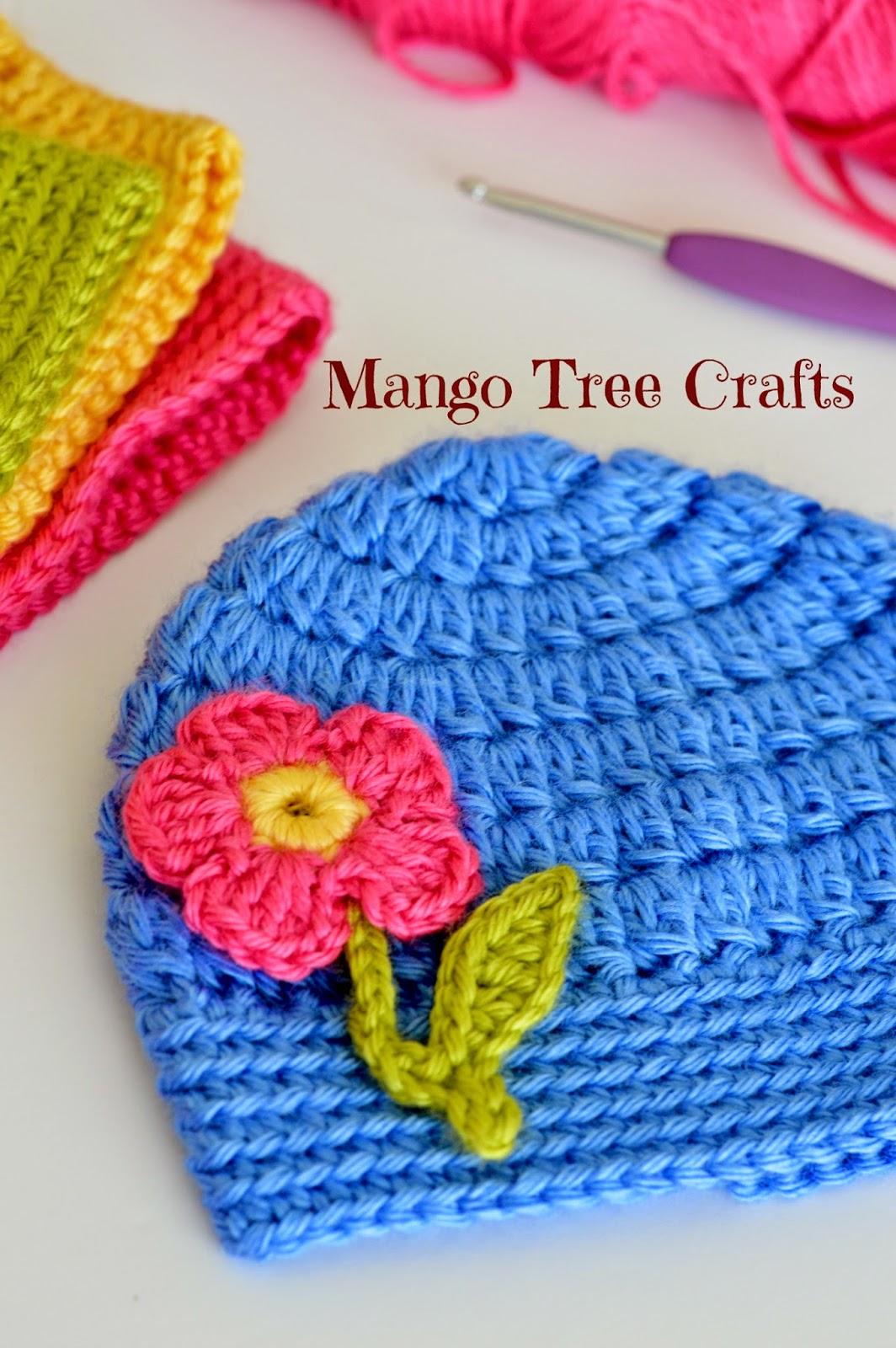 All Crochet Patterns : Mango Tree Crafts: Free Basic Beanie Crochet Pattern All Sizes