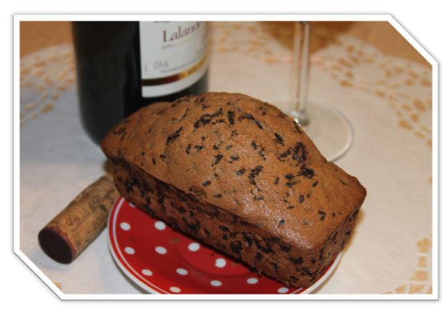 Le bretzel masqu g teau au vin rouge - Gateau au vin rouge ...