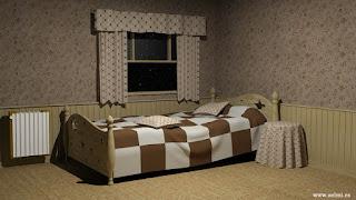 Habitación 3D clasica