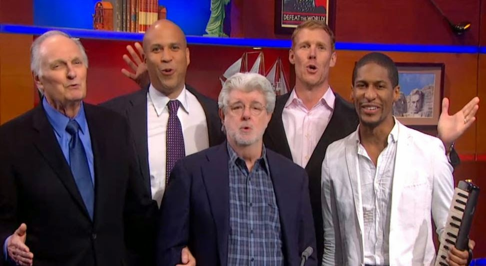 george lucas colbert show