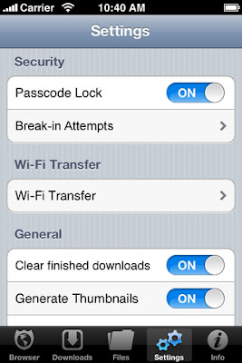 trinh duyet web an toan cho iphone-Your Secure Browser