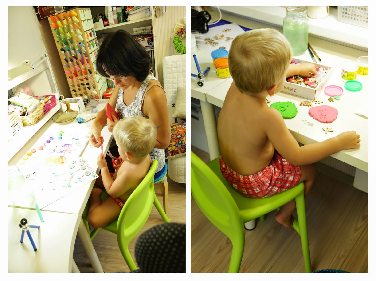 как рисовать с ребенком