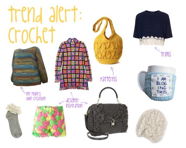 crochet, crochet trend, trend board, SS14, spring summer 2014