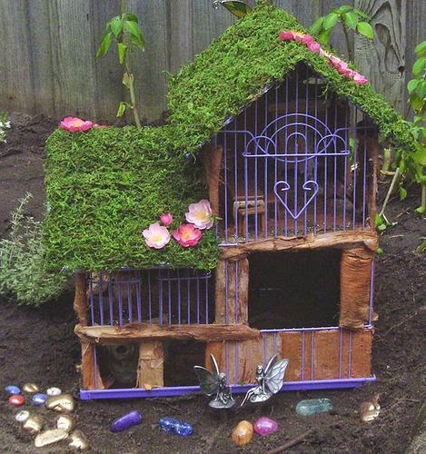 A Missive From Coriander Bats Create Your Own Fairy House