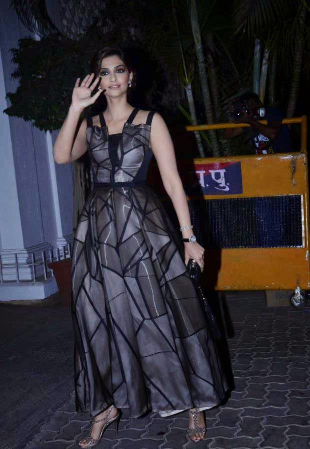 Sonam Kapoor at Karan Johar Birthday party