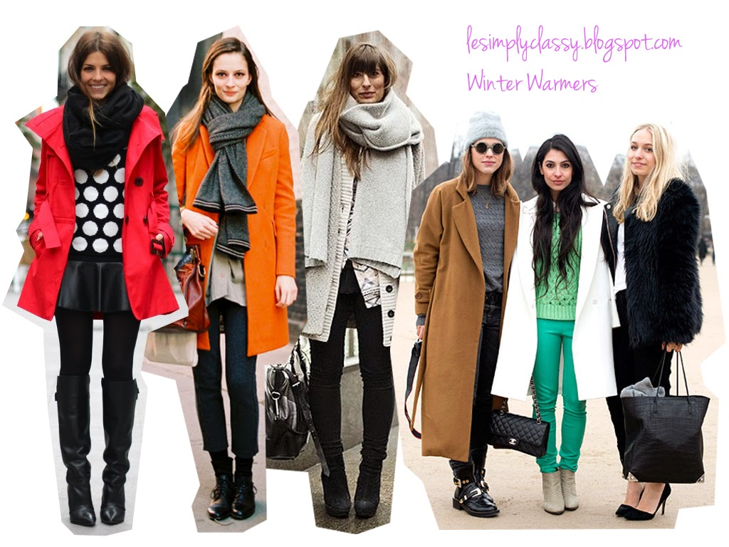 Lesimplyclassy : Winter Fashion: Must Haves