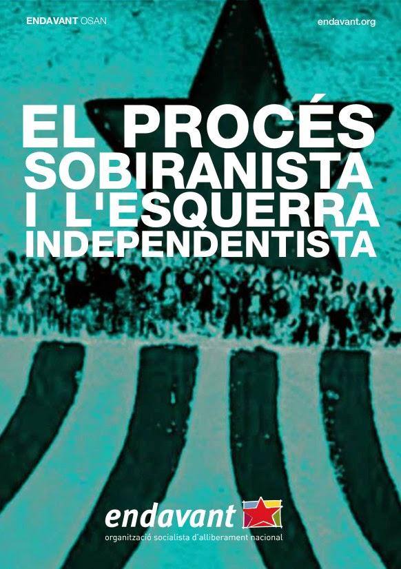 El procés sobiranista i l'esquerra independentista