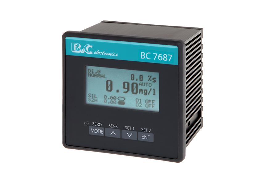 Analizador de cloro en aguas, entre  0 a 2 -20 -200 ppm
