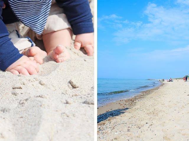 Amalie loves Denmark Am Strand von Tisvildeleje
