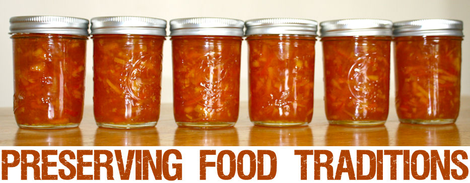 Preserving Food Traditions