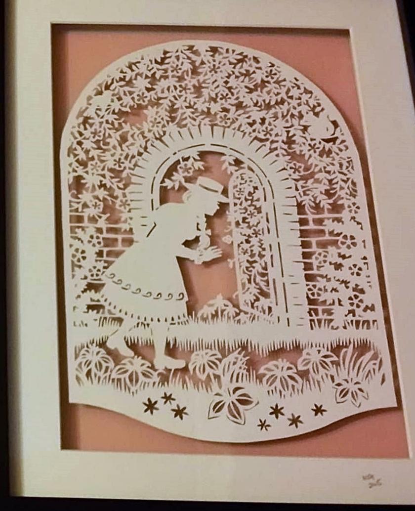 PaperCraft and Crochet: The Secret Garden & my Pardon the Mess The ...
