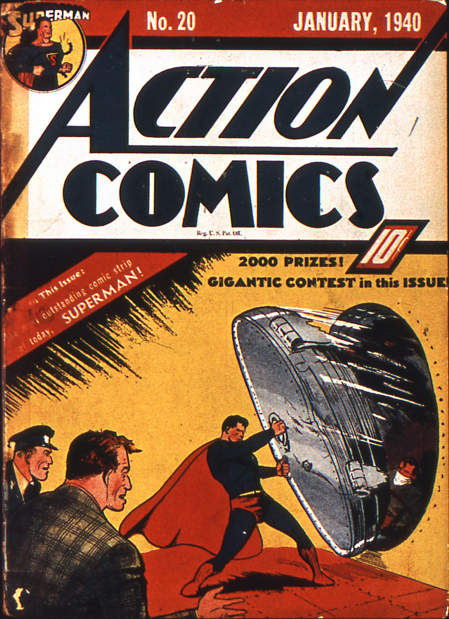 Action Comics (1938) 20 Page 1