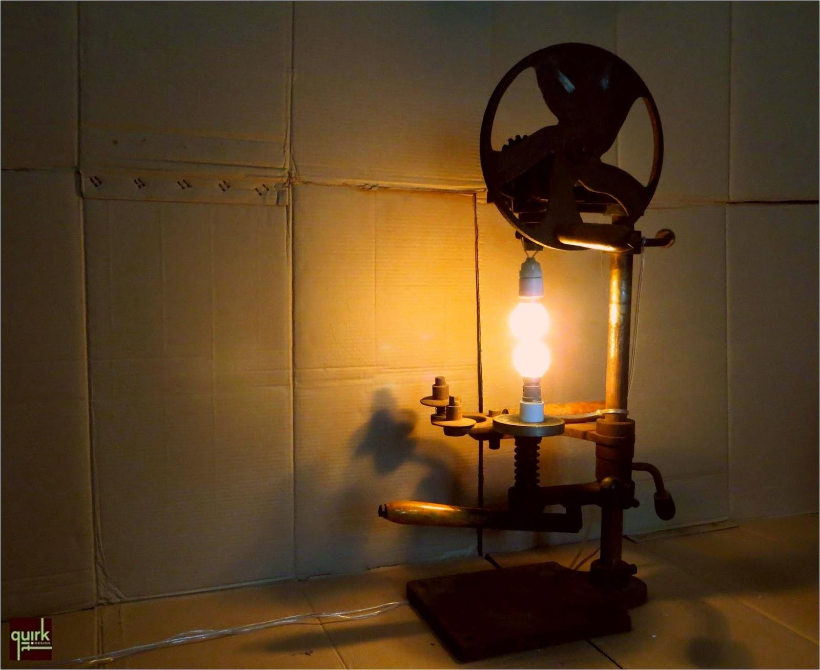 Quirk It Design_Industrial Illumination Lamp_DIY_Quirky_Home_Decor