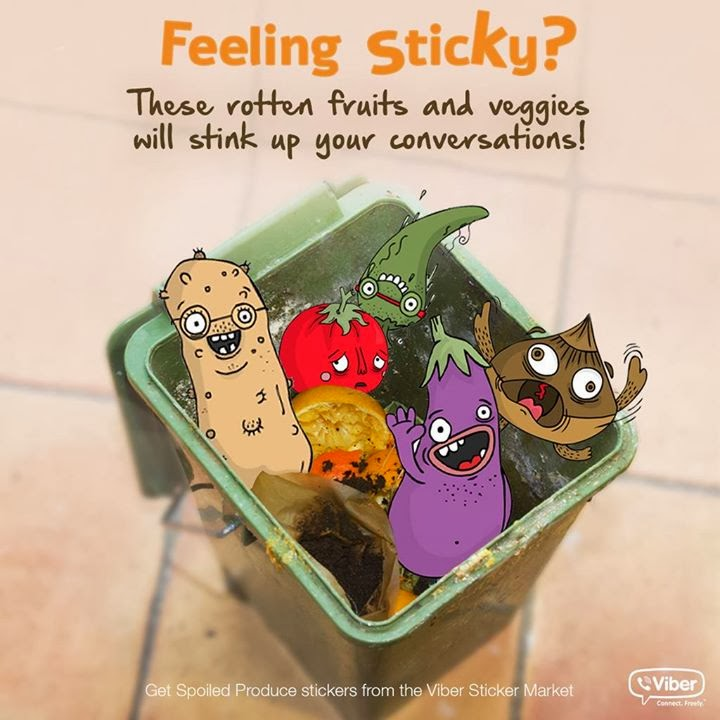 Feeling Sticky, Viber Sticker Market