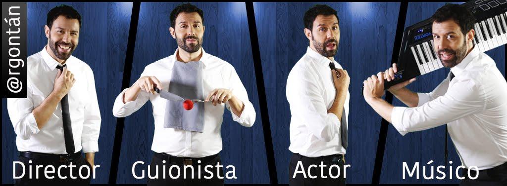 Roberto Gontán actor cómico