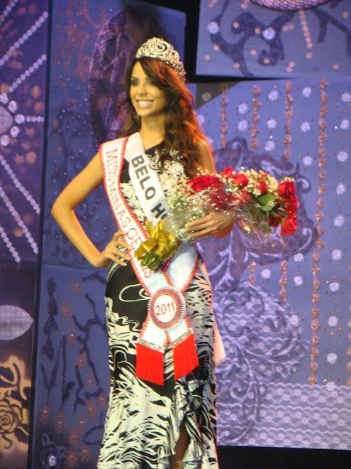 Miss Minas Gerais 2011 Izabela Drumond