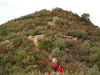 Baixant del Puigsoler Petit per la banda nord