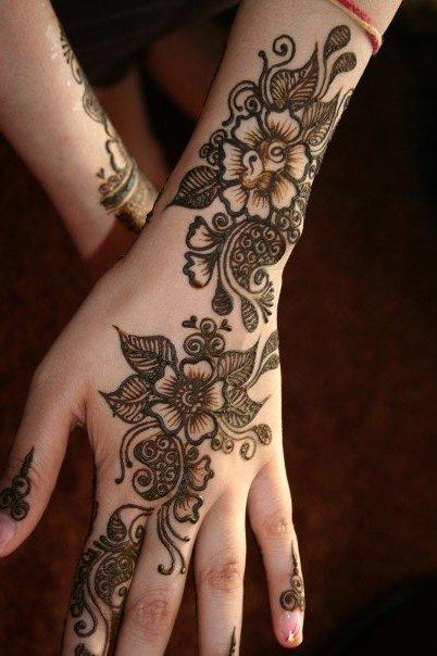 Indian Mehndi Design for Wedding