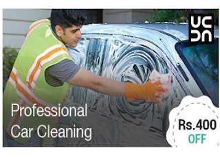 Urbanclap: Professional Car Cleaning Services Get On Rs. 400 off BuyToEarn