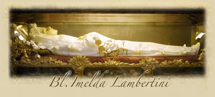 Блаженная имельда ламбертини фото