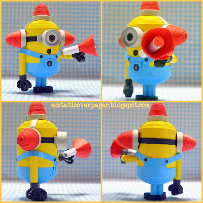 Minion Carl Bee do Carl Bee-do-bee-do-bee-do