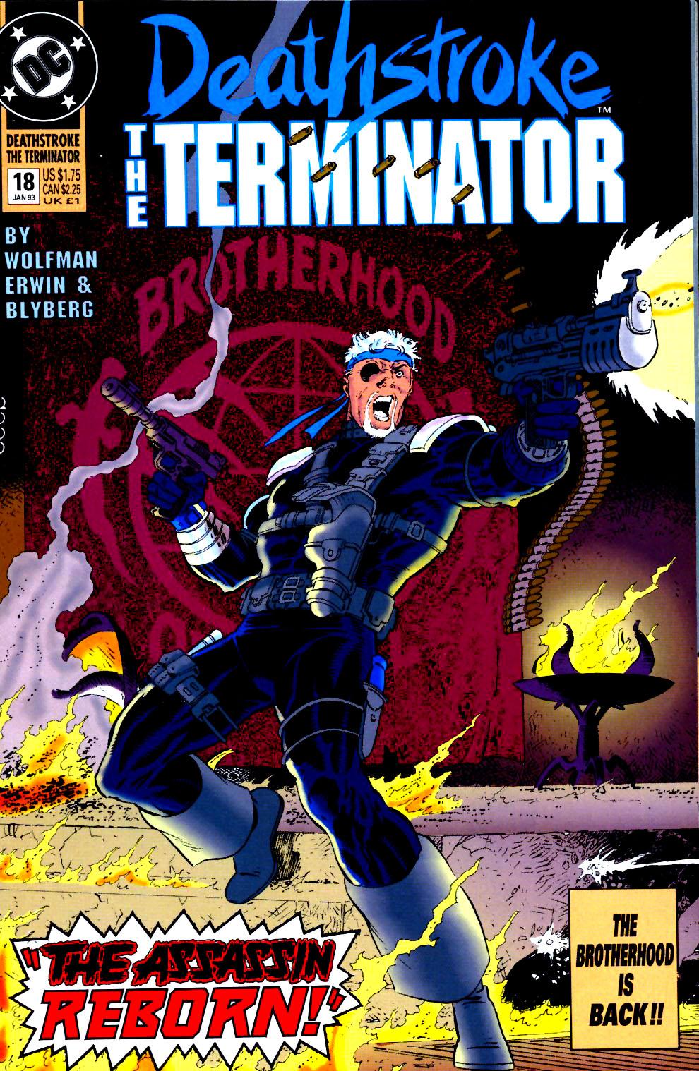 Deathstroke (1991) Issue #18 #23 - English 1