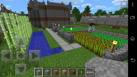 Minecraft - Pocket Edition v0.11.1 build 740110102 Apk [Mega Mod]