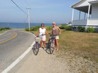biking block island