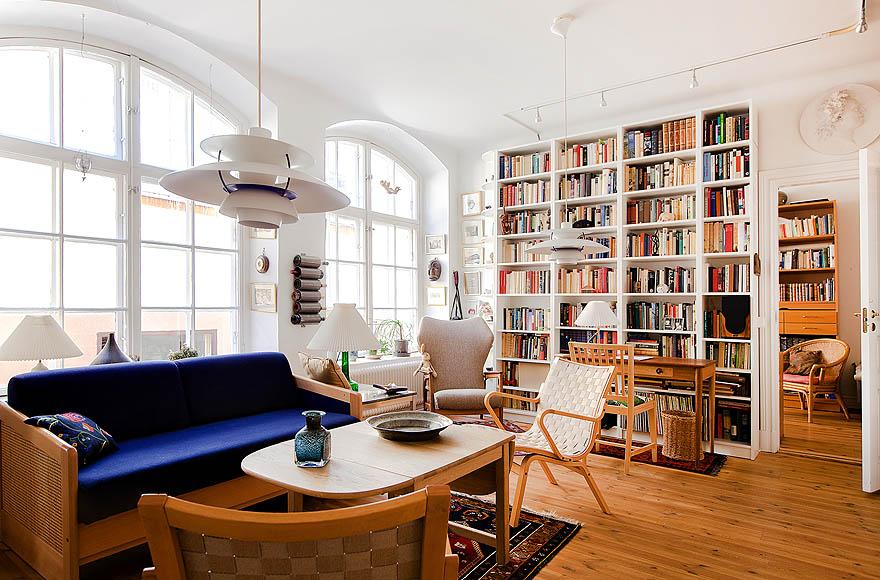 M ydeas decoration d 39 interieur un appartement for Salon cosy chaleureux