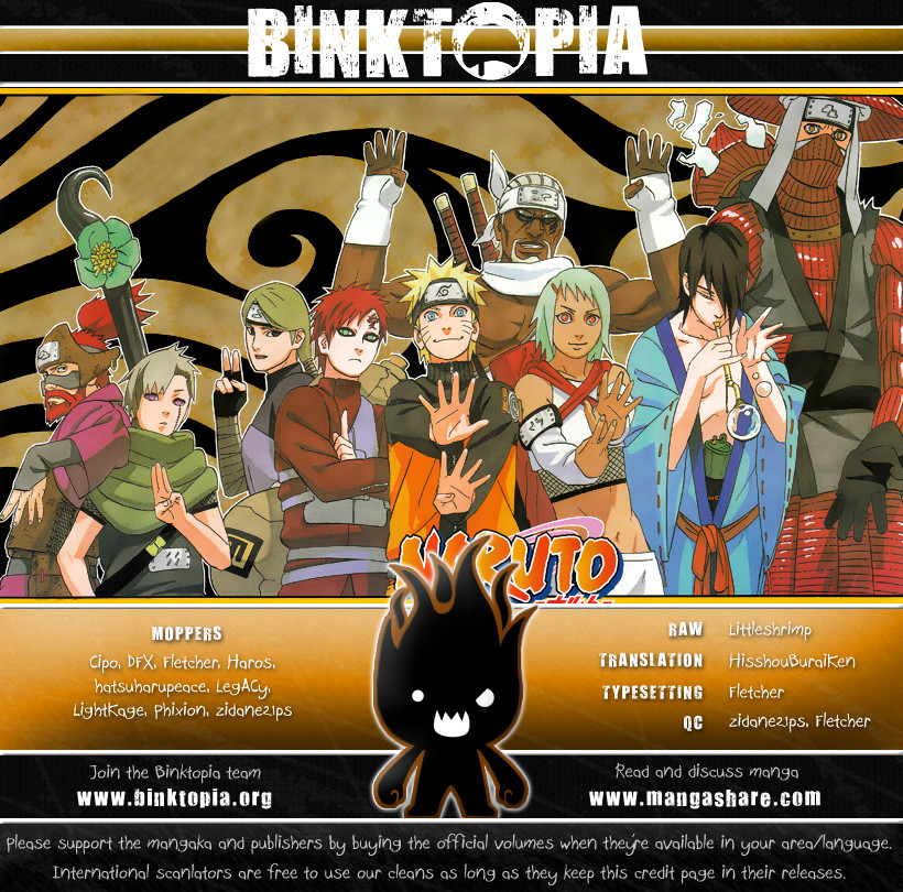 Naruto chap 444 Trang 19 - Mangak.info