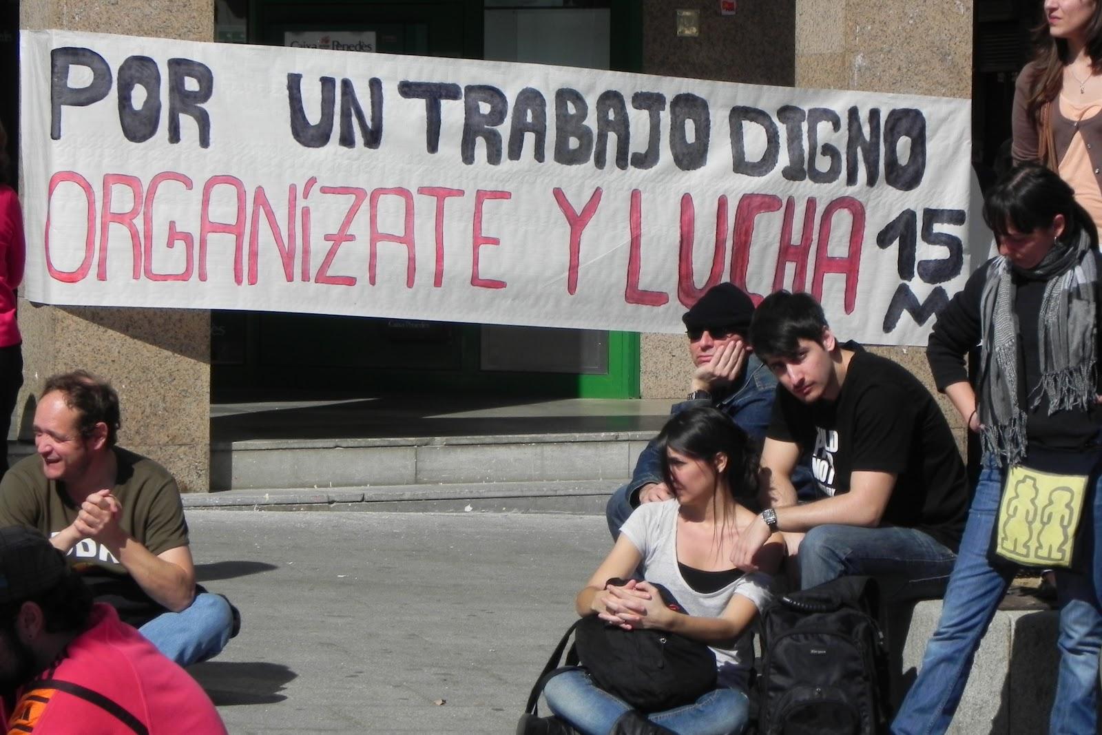 Asamblea de Parados y Precarios de Madrid: febrero 2012