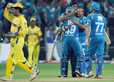 Pune Warriors Win