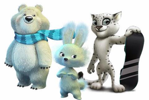 Talismans de Sochi-2014