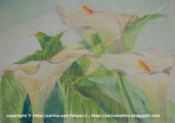 Cuadros pintados por zarina tollini de chile cuadro for Vendo papel pintado